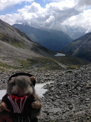 My buddy Reini enjoying the view.