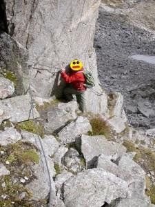 Rainbachscharte (2.720m) - Abstieg ins Rainbachtal