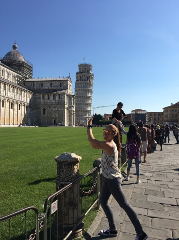 When in Pisa...
