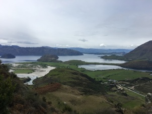 Views of Wanaka from the hike