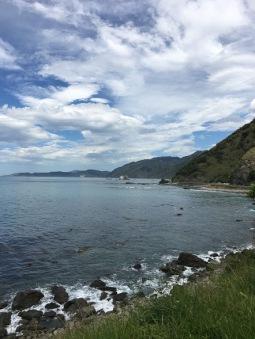 The drive to Kaikoura