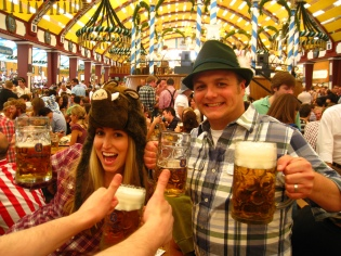 Festy Foutzes on our first venture to Munich before the dream of living here was ever on the radar.