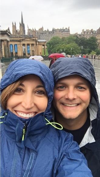 Getting our money's worth out of those rain jackets