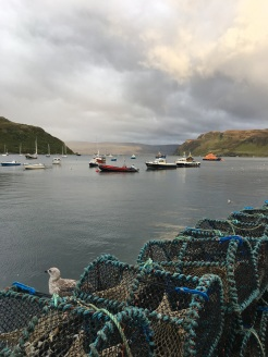 Our jumping off point in Portree