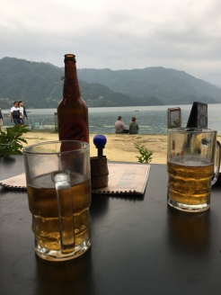 Beers with my boys back in Pokhara
