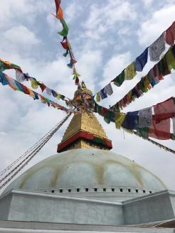Buddhist temple in Kathmandu